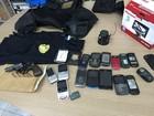 Polícia investiga empresa de segurança (Inaê Brandão/G1 RR)