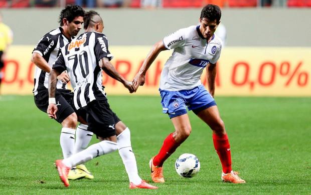 Guilherme Maicosuel Atlético-mg e Fahel Bahia Estádio Independência (Foto: Cristiane Mattos / Agência Estado)