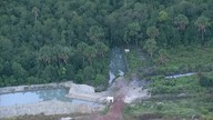 Fazenda desvia água que deveria ir para a barragem do Rio Descoberto