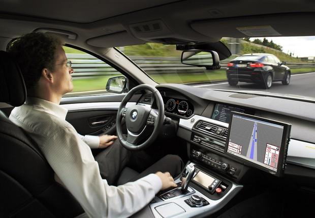 Veículo autônomo da BMW (Foto: Divulgação)