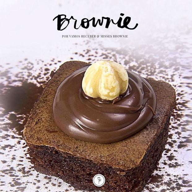 Brownie com avelã. Que tal?