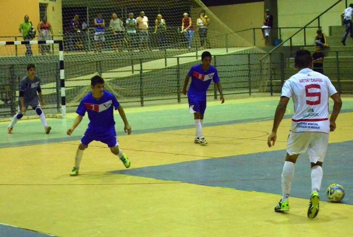 Futsal Roraima Sub-20 (Foto: Tércio Neto/GloboEsporte.com)