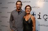 Adriana Esteves divide set com Vladimir Brichta