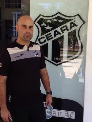 Cristian de Souza, técnico do Ceará Sub-20 (Foto: Divulgação)