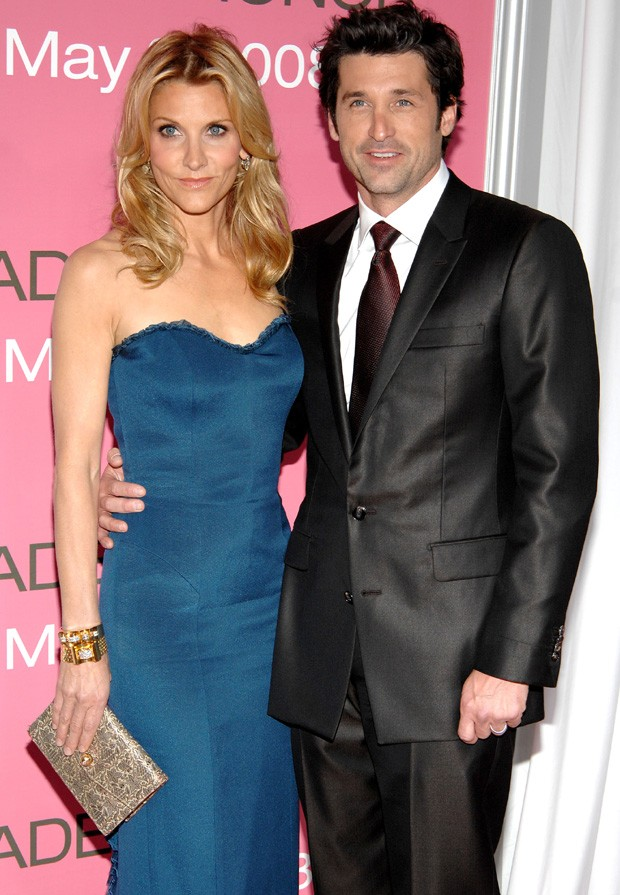 Patrick Dempsey e a mulher (Foto: Getty Images)