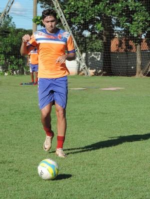 Igor Prado, zagueiro do Grêmio Prudente (Foto: João Paulo Tilio / GloboEsporte.com)