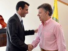 Presidente da Colômbia nega tentativa de desestabilizar Venezuela