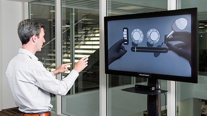 Pesquisa da Microsoft quer melhorar reconhecimento de posição e gestos das mãos (Foto: Reprodução/Microsoft)