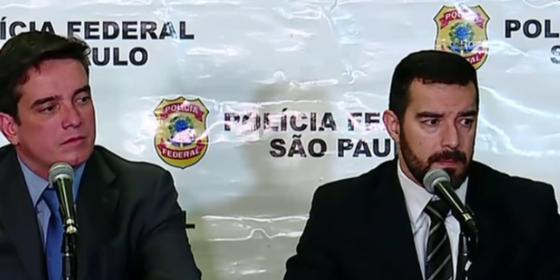 Delegados da Polícia Federal responsáveis pela Operação Tendão de Aquiles (Foto: Reprodução)