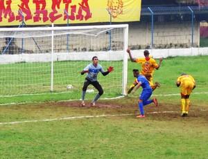 Jabaquara vence o Diadema por 1 a 0 (Foto: Cássio Lyra)