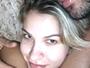 Andressa Suita posa agarradinha com Gusttavo Lima: 'Melhor lugar'