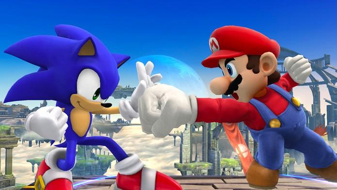 A batalha do século (Foto: Divulgação/Nintendo)