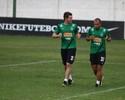 Robinho treina no Coritiba; Jackson e Sérgio podem voltar em janeiro