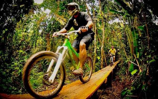1º Campeonato Amazonense de Mountain Bike=09-03-2012 (Foto: FAC/Divulgação)