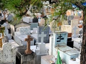 Cemitério da Saudade, em Sorocaba, foi inaugurado em 1863 (Foto: Zaqueu Proença/ Secom Sorocaba)