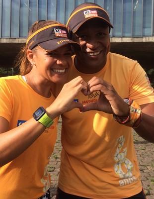 Casal de atletas são silvestre (Foto: Chris Mussi)