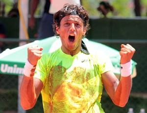 João Olavo SOuza Feijão tênis Challenger São José do Rio Preto (Foto: Ricardo Boni)