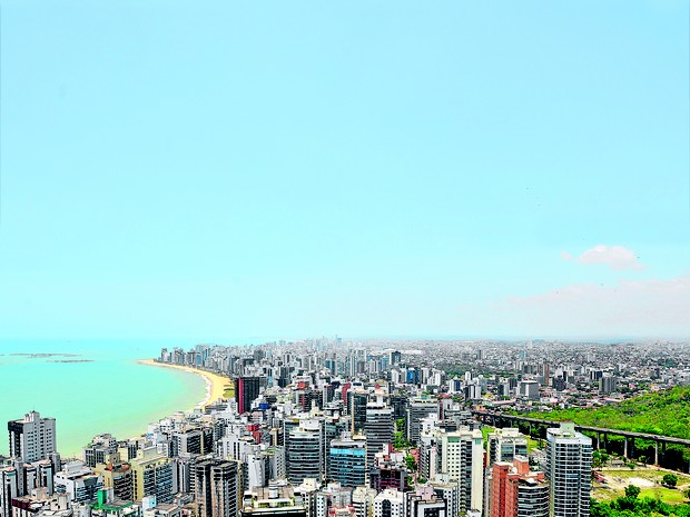 Bairro Praia da Costa, em Vila Velha, vai receber demarcação (Foto: Marcelo Prest/ A Gazeta)