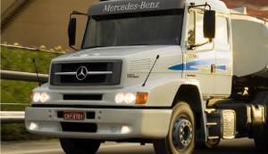 Caminhão de Mercedes-Benz (Foto: Divulgação)