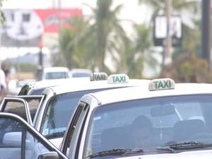 táxi (Foto: Secom-Cuiabá)