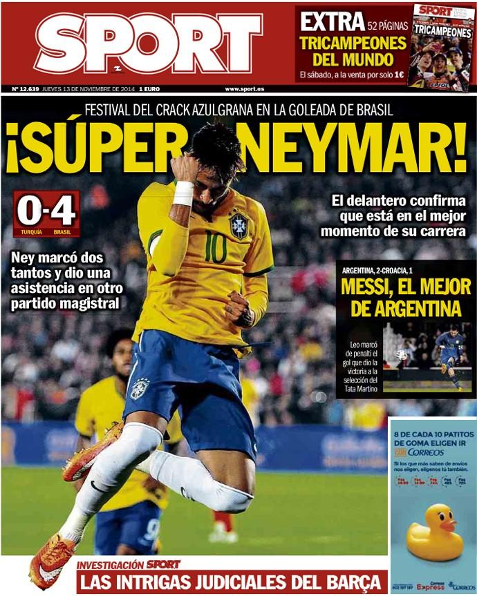 revistas Espanha neymar (Foto: Reprodução)