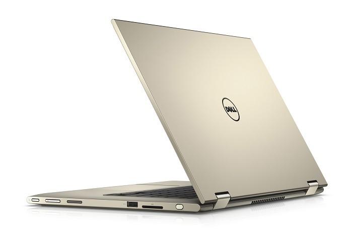 Novo Notebook da Dell chega ao Brasil na cor dourada (Foto: Divulgação/Dell)