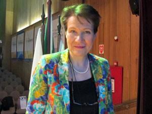 Jaana Palojärvi é diretora do Ministério da Educação da Finlândia (Foto: Vanessa Fajardo/ G1)