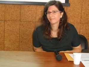 Rebeca de La Rocque Palis, gerente da Coordenação de Contas Nacionais do IBGE (Foto: Lilian Quaino/G1)