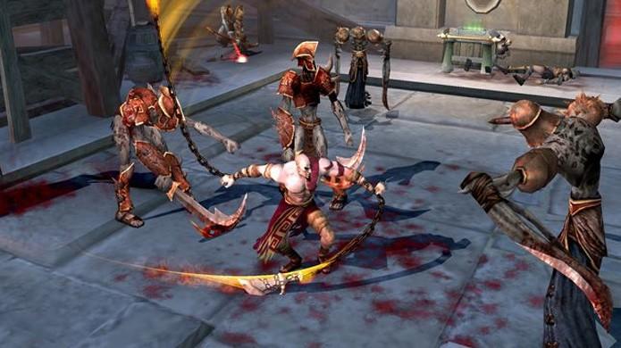 God of War soube como usar bem os pontos fortes do PlayStation 2 e esconder os pontos fracos (Foto: Reprodução/NeoGaf)