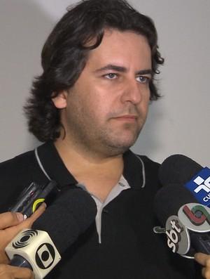 Fabio Azevedo, diretor de futebol do Treze (Foto: Reprodução / TV Paraíba)