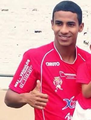 Júnior Ratinho do Bonsucesso de Uberaba (Foto: Júnior Ratinho/ Arquivo Pessoal)