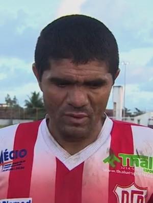 Dagil lamenta erro do Dorense (Foto: Reprodução/TV Sergipe)