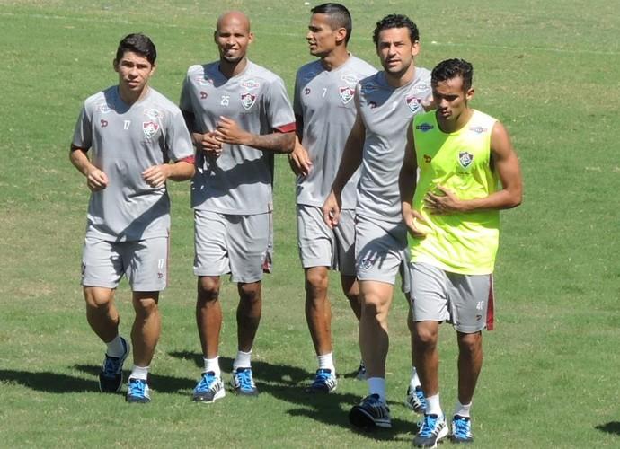 Fluminense treino (Foto: Hector Werlang/ Globoesporte.com)