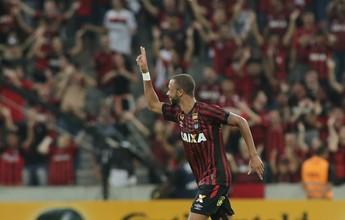 Hernani marca, Atlético-PR elimina o Brasil-Pel e avança na Copa do Brasil