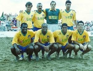 Neném, Zico, Júnior, Paulo Sérgio, Magal e Claúdio Adão (Foto: Arquivo Pessoal)