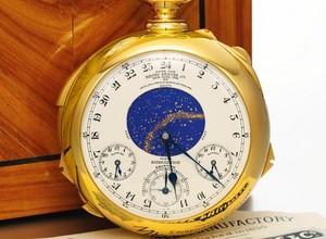 4d702b564c9 Leilão de relógio de bolso suíço atinge recorde de US 24 milhões ...