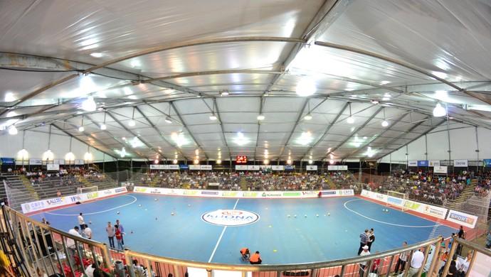 arena, móvel, sorocaba, são paulo, futsal (Foto: Clausio Tavoloni / TV TEM)