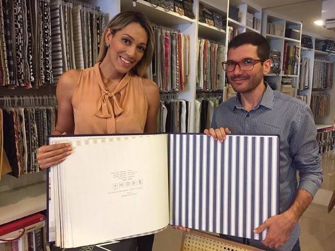Arquiteto Matheus Menezes dá dicas de como usar papéis de parede na decoração (Foto: Fernando Petrônio)