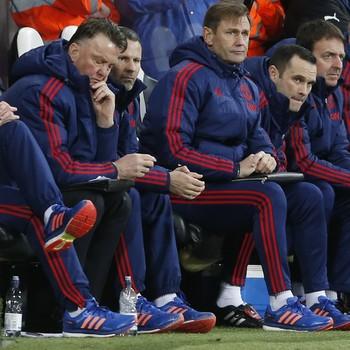 Louis van Gaal Manchester United x Newcastle (Foto: Reuters)