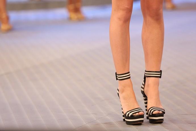 As sandálias de Marina fizeram sucesso (Foto: Carol Caminha/Gshow)