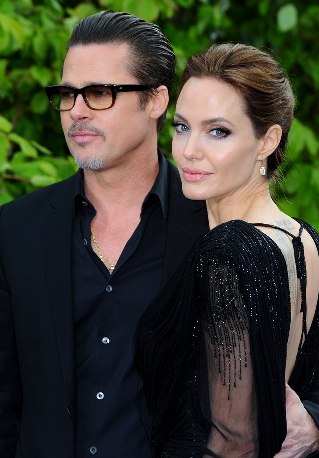 Brad Pitt e Angelina Jolie (Foto: Getty)