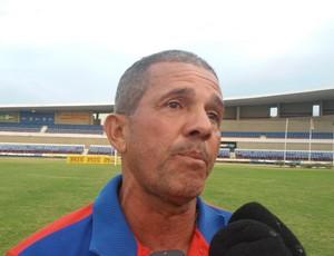 Carlinhos Marechal, técnico do Sete de Setembro (Foto: Augusto Oliveira / GloboEsporte.com)