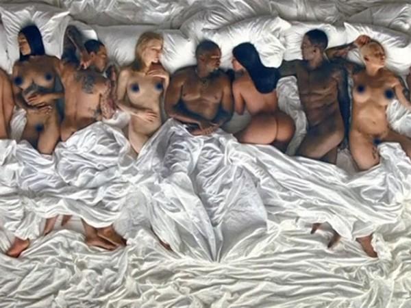 Kanye West polemiza com clipe que simula famosos nus