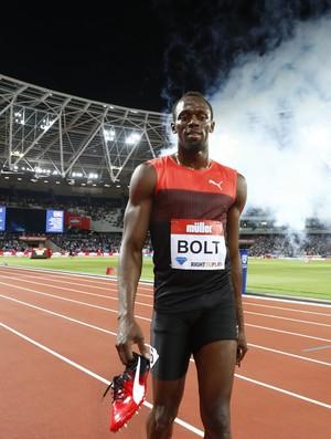 Bolt reconhece que a forma ainda não é a sua ideal  (Foto: Reuters)