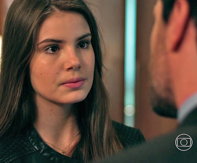 Angel avisa que não se envolverá mais com Alex (Foto: TV Globo)