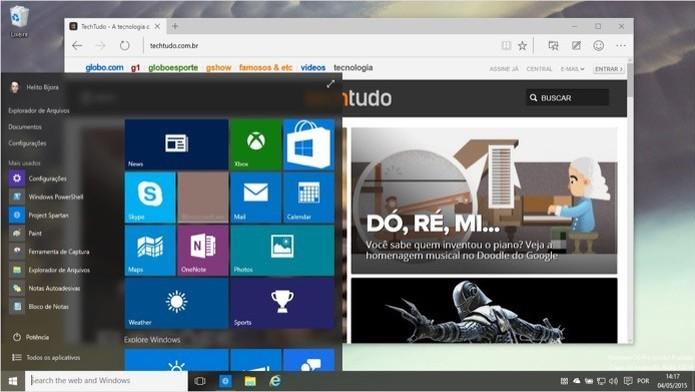 Microsoft pode remunerar quem encontrar brechas de segurança graves no Windows 10 (Foto: Reprodução/Helito Bijora) (Foto: Microsoft pode remunerar quem encontrar brechas de segurança graves no Windows 10 (Foto: Reprodução/Helito Bijora))