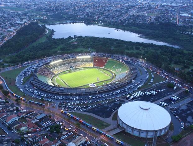 Estádio João Havelange, em Uberlândia 2 (Foto: Daniel Nunes)