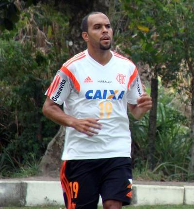 Treino do Flamengo - Alecsandro e Nixon (Foto: Sofia Miranda)