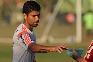 Eduardo da Silva, Flamengo, Ninho do Urubu (Foto: Gilvan de Souza/Fla Imagem)