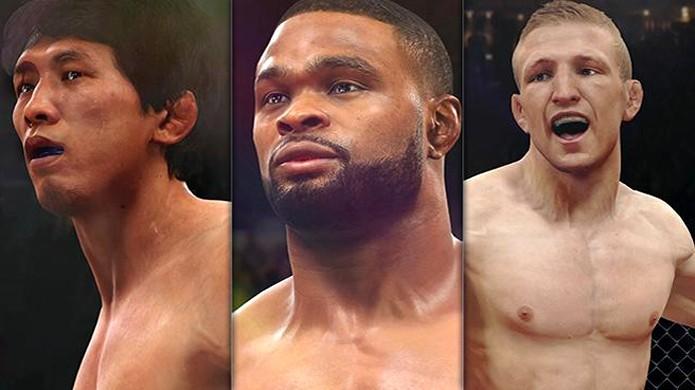 T.J. Dillashaw, Takeya Mizugaki e Tyron Woodley são adicionados por DLC em EA Sports UFC (Foto: Divulgação)